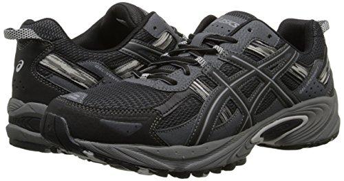 ASICS Men's Gel Venture 5 Running Shoe, Black/Onyx/Charcoal, 10 M US