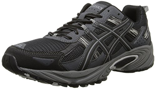 ASICS Men's Gel Venture 5 Running Shoe, BlackOnyxCharcoal, 10 M US