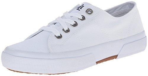 best choice buy online save off Lauren Ralph Lauren Women's Jolie Fashion Sneaker, White Solid ...