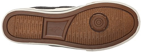 8262f46d Polo Ralph Lauren Men's Vaughn Fashion Sneaker, Black, 11 D US